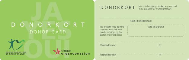 donorkort